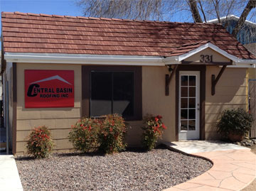 Central Basin Roofing Office in Prescott AZ