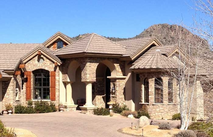 Flat Concrete Tile Roof in Prescott