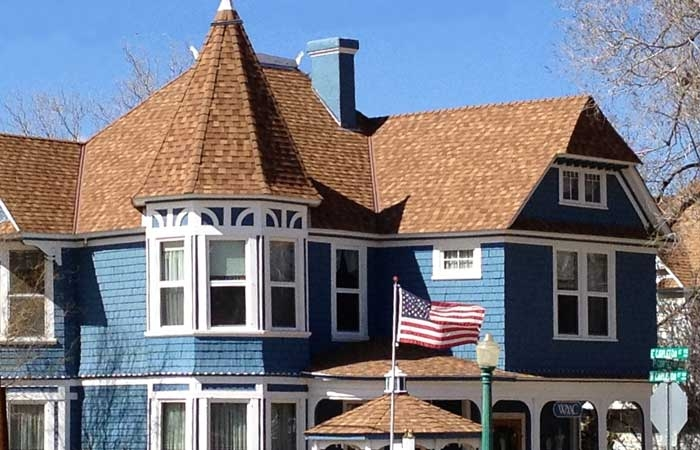 New Roof on HIstoric Victorian Home in Prescott
